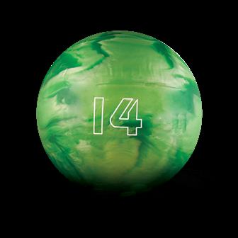 Huisbal bowlingbal  14 lbs - Kelly Green Pearl Glow