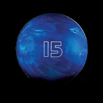 Huisbal bowlingbal  15 lbs - Dark Blue Pearl Glow