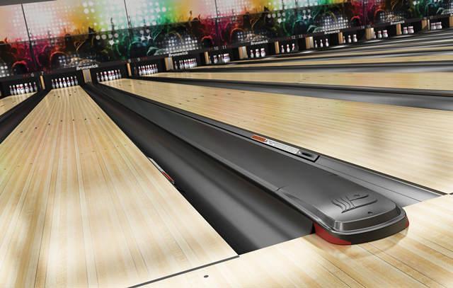 Bowlingbaan - Zwarte cappings