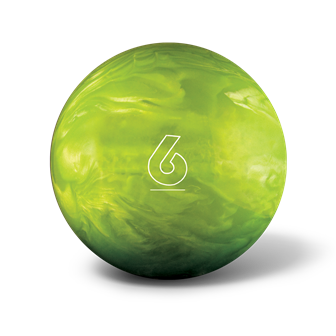 Huisbal bowlingbal 6 lbs - Lime Green Glow