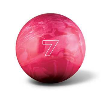 Huisbal bowlingbal 7 lbs - Fuchsia Pearl Glow