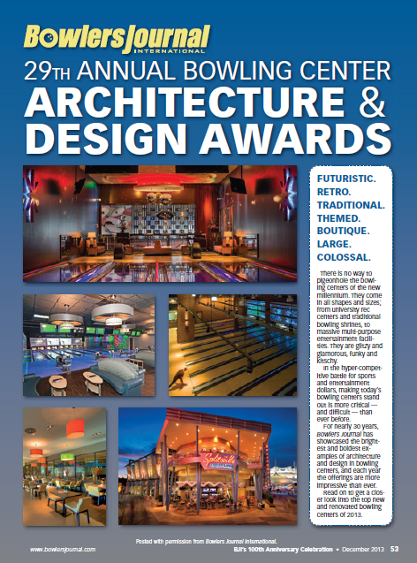 Bowlers Journal Architecture and Design Awards 2013