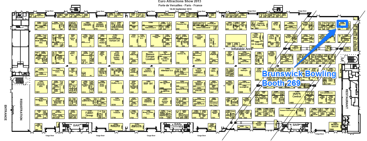 EAS 2013 - Floorplan