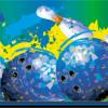 Bowling Masking - Blue Paint