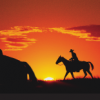 Masking Unit - Western Sunset
